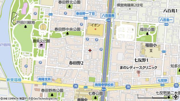 愛知県名古屋市港区春田野2丁目1001周辺の地図