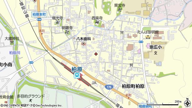 兵庫県丹波市柏原町柏原 住所一覧から地図を検索