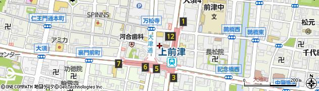 愛知県名古屋市中区大須4丁目11-52周辺の地図