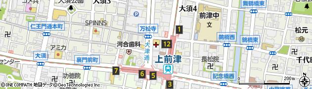 愛知県名古屋市中区大須4丁目11-61周辺の地図