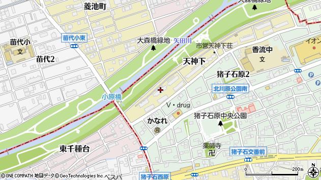 愛知県名古屋市名東区天神下 地図(住所一覧から検索 ...