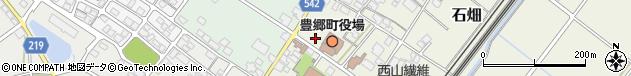 滋賀県犬上郡豊郷町周辺の地図