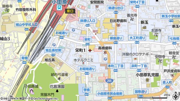 神奈川県小田原市栄町1丁目14-48 地図(住所一覧から検索 ...
