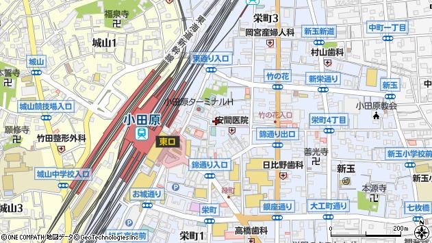 神奈川県小田原市栄町2丁目4-30 地図(住所一覧から検索 ...