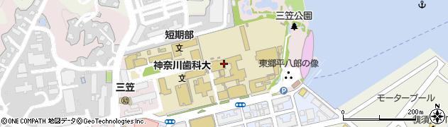 神奈川県横須賀市稲岡町82周辺の地図