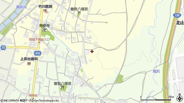 静岡県富士宮市上井出1759周辺の地図
