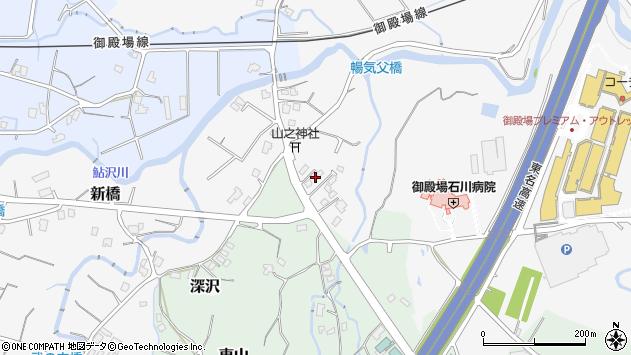 静岡県御殿場市深沢1248周辺の地図