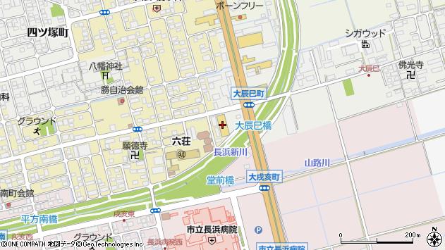 滋賀県長浜市大辰巳町37周辺の地図