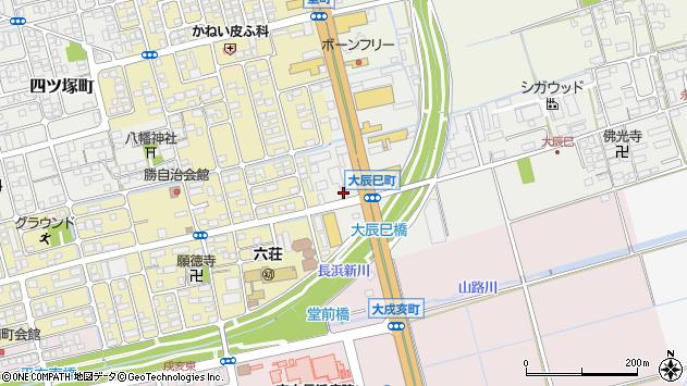 滋賀県長浜市大辰巳町31周辺の地図