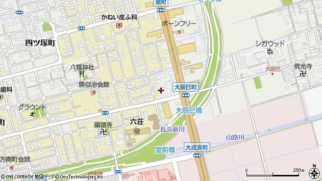滋賀県長浜市大辰巳町36周辺の地図
