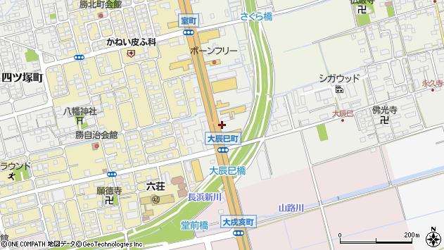 滋賀県長浜市大辰巳町20周辺の地図