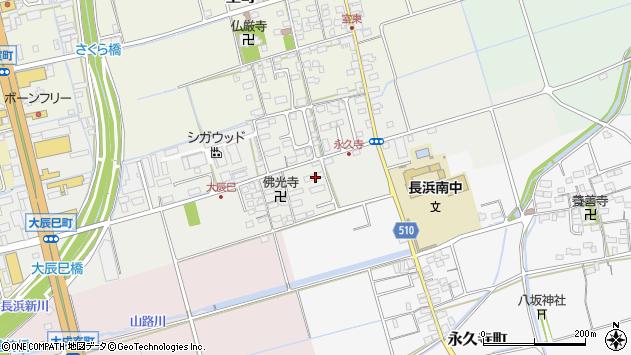 滋賀県長浜市大辰巳町207周辺の地図