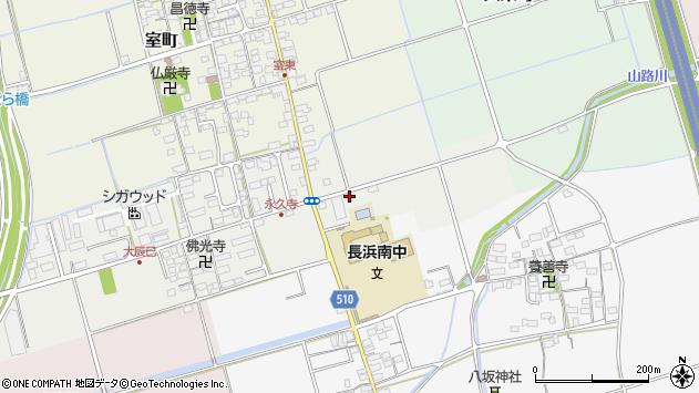 滋賀県長浜市大辰巳町227周辺の地図