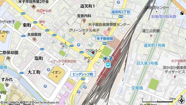 鳥取県米子市明治町125周辺の地図