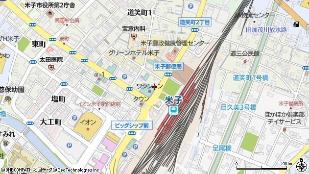 鳥取県米子市明治町110周辺の地図