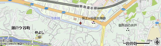 神奈川県横浜市保土ケ谷区保土ケ谷町1丁目74周辺の地図