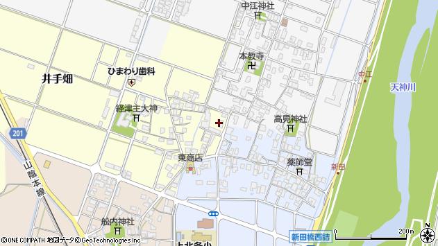 鳥取県倉吉市井手畑周辺の地図
