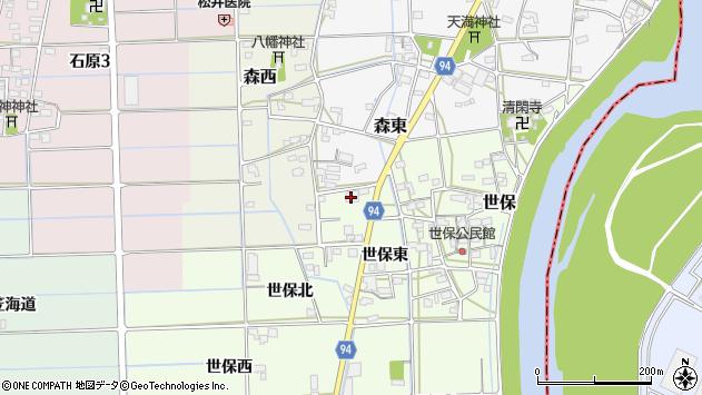 岐阜県岐阜市世保北33周辺の地図