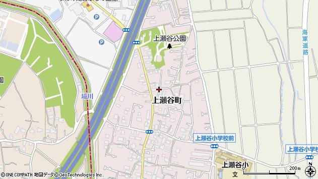 神奈川県横浜市瀬谷区上瀬谷町周辺の地図