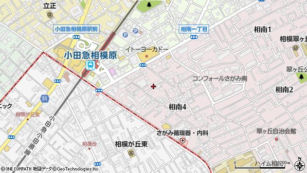 神奈川県相模原市南区相南4丁目周辺の地図