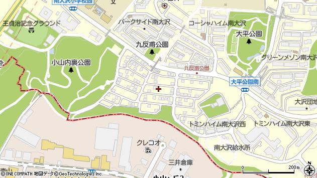 東京都八王子市南大沢周辺の地図