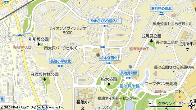 東京都八王子市別所周辺の地図