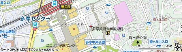 東京都多摩市落合1丁目35周辺の地図