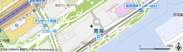 東京都江東区青海1丁目3-15周辺の地図