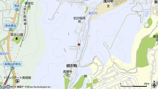 東京都八王子市初沢町1433周辺の地図