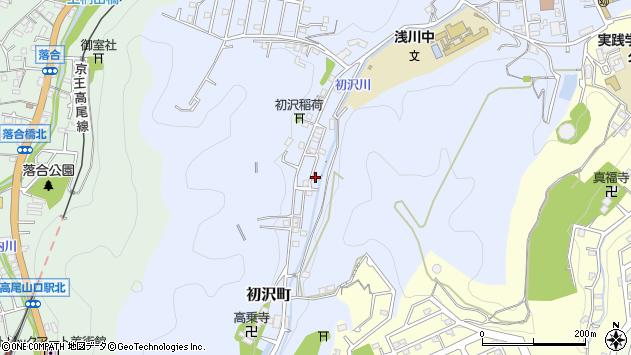 東京都八王子市初沢町1437周辺の地図