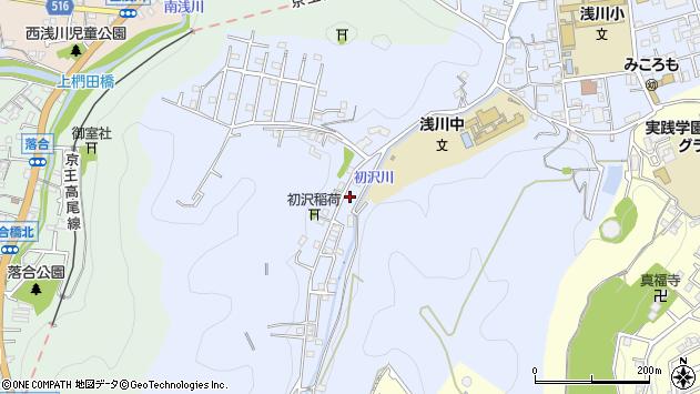 東京都八王子市初沢町1434周辺の地図