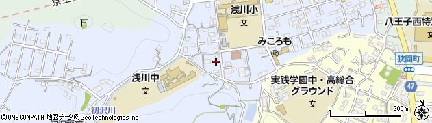 東京都八王子市初沢町1334周辺の地図