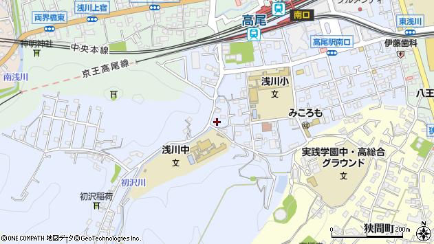 東京都八王子市初沢町1363周辺の地図
