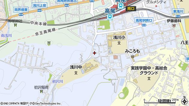 東京都八王子市初沢町1362周辺の地図
