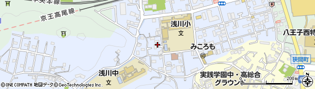 東京都八王子市初沢町1337周辺の地図