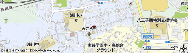 東京都八王子市初沢町1305周辺の地図