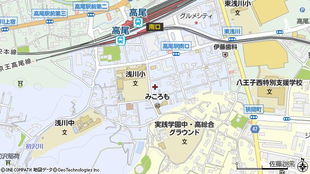東京都八王子市初沢町1300周辺の地図