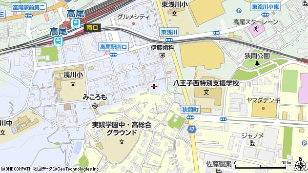 東京都八王子市初沢町1290周辺の地図