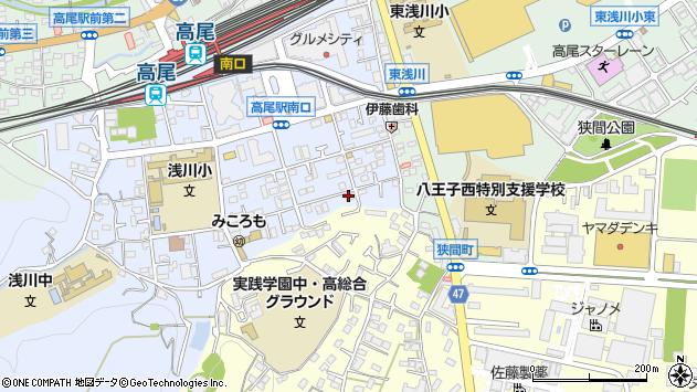 東京都八王子市初沢町1292周辺の地図