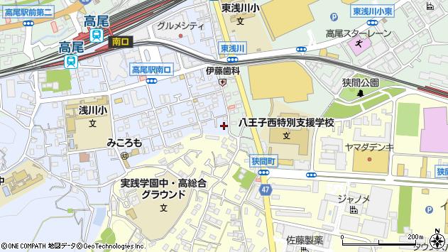 東京都八王子市初沢町1287周辺の地図