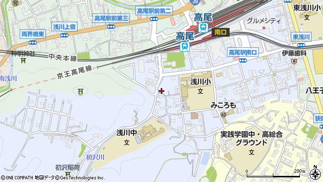 東京都八王子市初沢町1359周辺の地図
