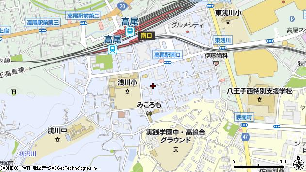 東京都八王子市初沢町1229周辺の地図