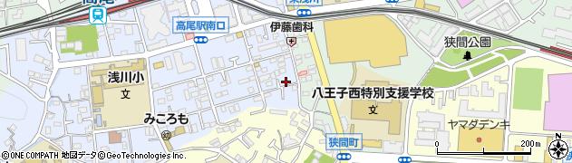 東京都八王子市初沢町1286周辺の地図