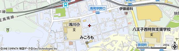 東京都八王子市初沢町1299周辺の地図