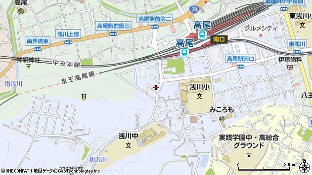 東京都八王子市初沢町1459周辺の地図
