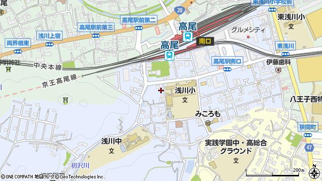 東京都八王子市初沢町1344周辺の地図