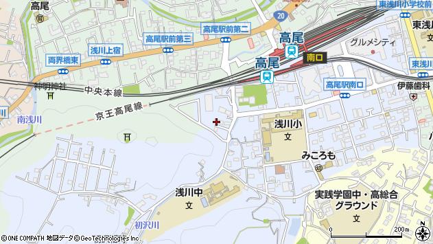 東京都八王子市初沢町1460周辺の地図