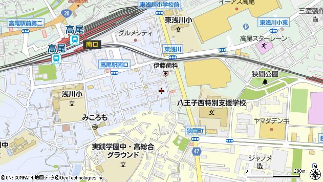東京都八王子市初沢町1285周辺の地図