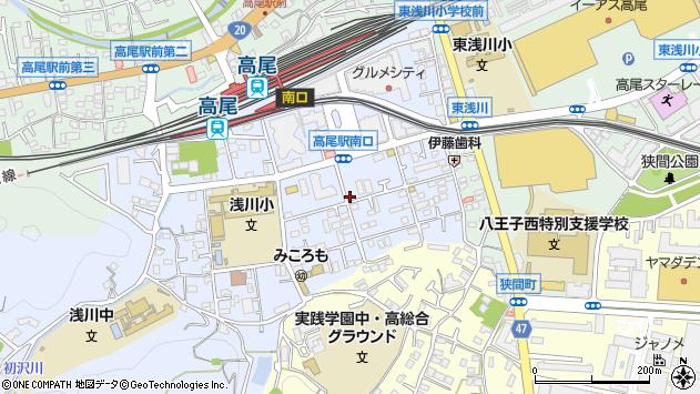東京都八王子市初沢町1295周辺の地図
