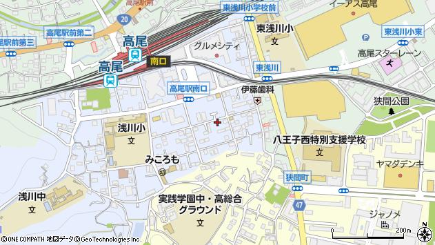 東京都八王子市初沢町1293周辺の地図